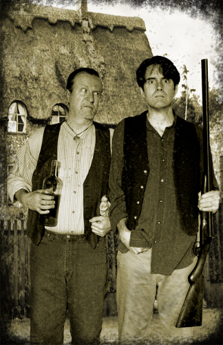 "Tim Gleason and Sean Walsh in ""Lonesome West"""