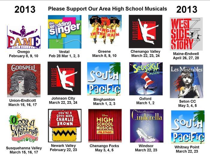 HS Musicals 2013